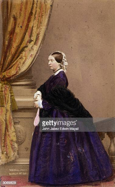 Victoria Queen of Great Britain and Ireland and Empress of India.