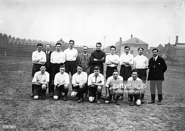 The Derby County team group