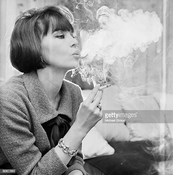 French actress and dancer Leslie Caron, who gained a world-wide reputation for her roles in the 'Lili' and 'Gigi' at her Knightsbridge home in London.