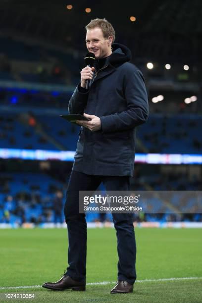 1st March 2017 - FA Cup - 5th Round - Manchester City v Huddersfield Town - BBC Sport television presenter Dan Walker - .