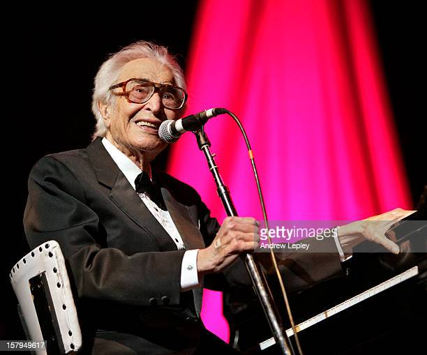 1st MARCH: American jazz pianist Dave Brubeck performs live on stage at the Berks Jazz festival in Reading, Pennsylvania, USA in March 2011.