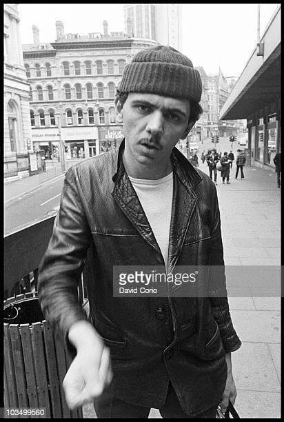 Kevin Rowland of Dexys Midnight Runners poses for a portrait in March 1980 in Birmingham United Kingdom