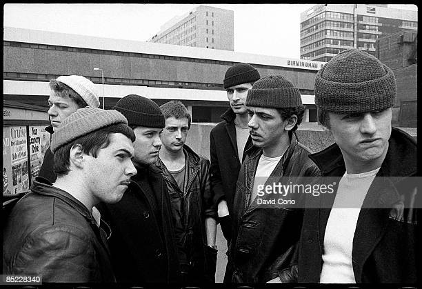 Photo of DEXYS MIDNIGHT RUNNERS Dexys Midnight Runners posed in Birmingham in March 1980 lead singer Kevin Rowland is 2nd from right