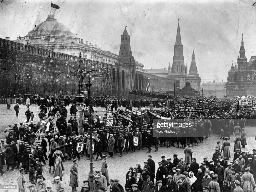 May Day In Moscow : News Photo