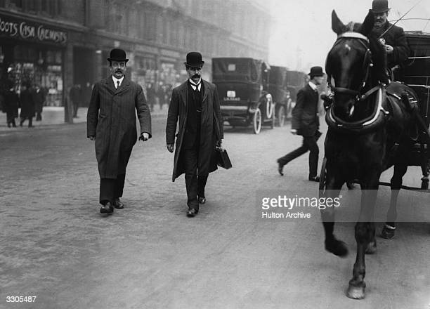 The Scottish politicians Ramsay MacDonald Britain's first Labour prime minister and Arthur Henderson chairman of the Labour Party Ramsay MacDonald...