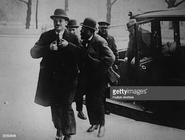Murderer Henri Desire Landru arriving at court Known as the French 'Bluebeard' Landru was found guilty of the murder of ten women and a boy and...