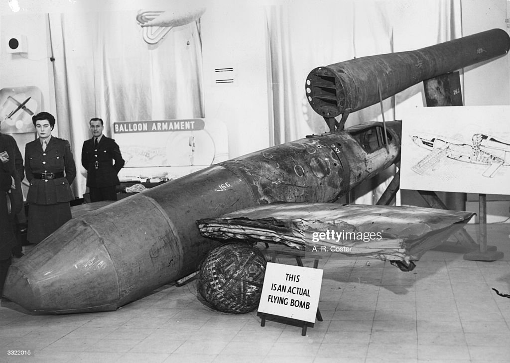 Flying Bomb : News Photo