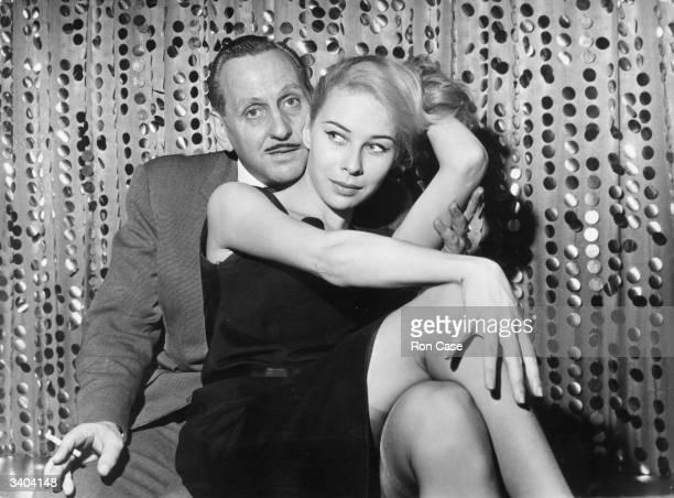 Kathy Keeton former Sadler's Wells Royal Ballet dancer turned stripper with her business manager Michael Howard She went on to marry Penthouse...