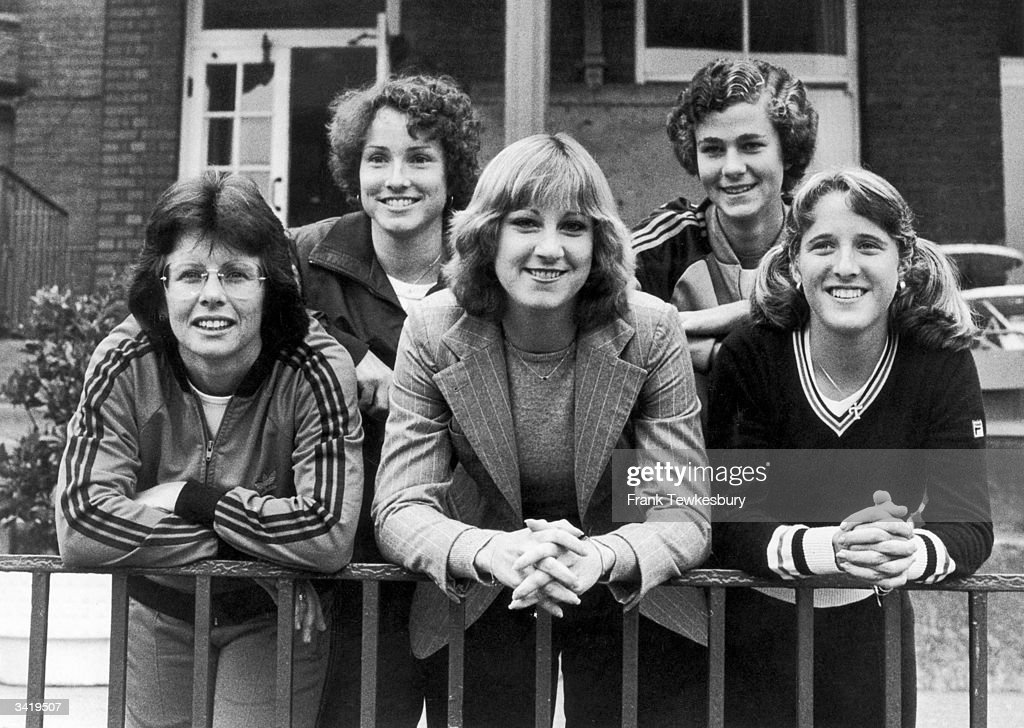 December 21st - 1954. Chris Evert Lloyd, tennis player, born on this day