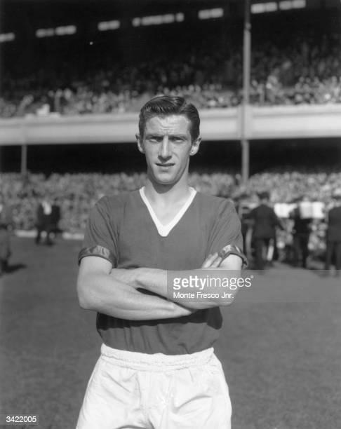 Manchester United FC soccer player Dennis Viollet