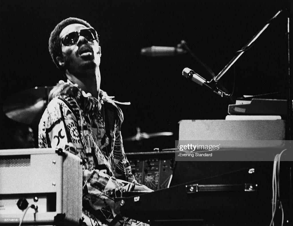 Stevie Wonder : ニュース写真