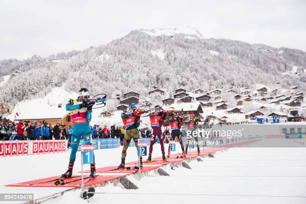 1st place Martin Fourcade of France 3rd place Erik Lesser of Germany 4th place Anton Shipulin of Russia 5th place Benjamin Weger of Switzerland and...