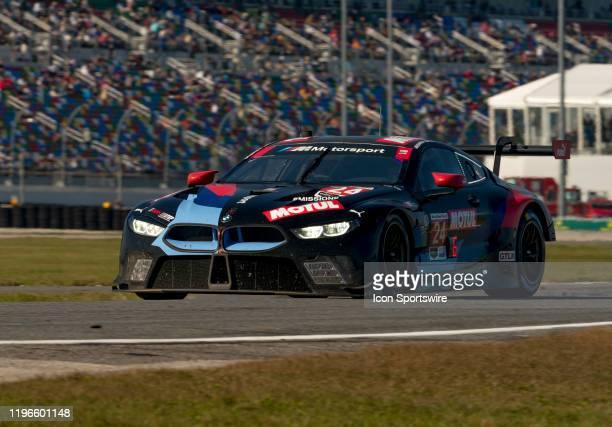 1st Place Winner GT Le Mans BMW Team RLL during the Rolex 24 IMSA Race on January 25th 2020 atDaytona International Speedway in Daytona FL