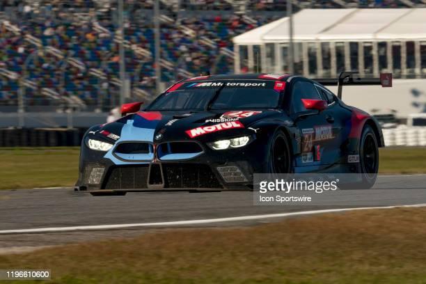 1st Place Winner GT Le Mans BMW Team RLL during the Rolex 24 IMSA Race on January 25th 2020 atDaytona Speedway in Daytona FL