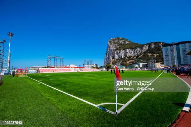 1st QUALIFYING ROUND .ST JOSEPHS vs RANGERS.VICTORIA STADIUM - GIBRALTAR.Victoria Stadium, Gibraltar.
