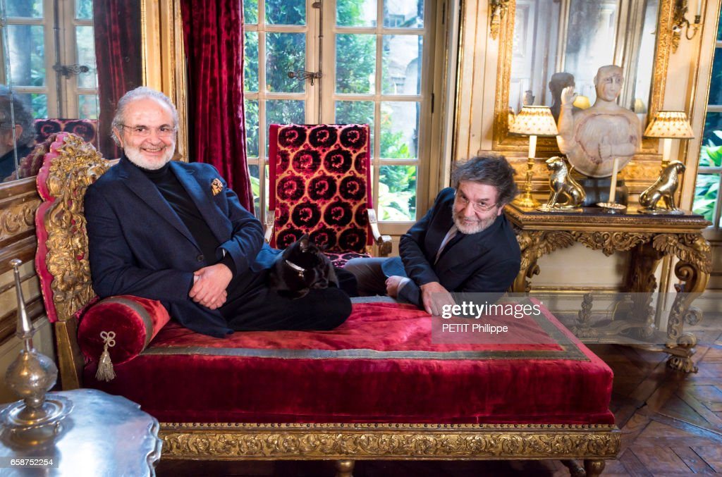 Rendez Vous With The Interior Designers Joseph Achkar And Michel Charriere  And Their Cat Shalimar