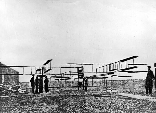 Gyroplane 1907 Wall Art