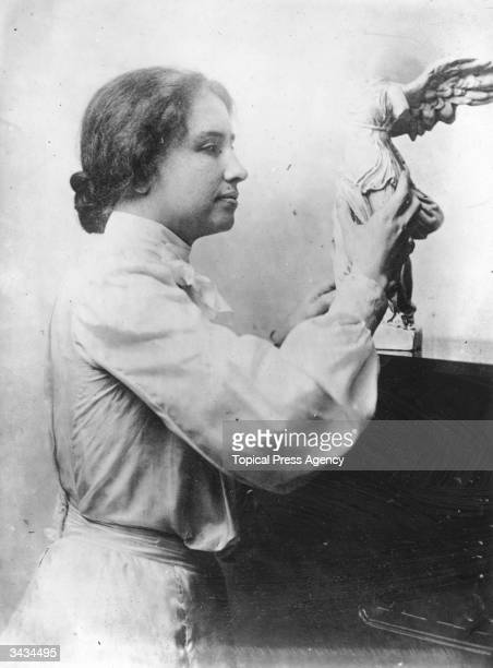 Helen Adams Keller Deaf and blind from the age of 19 months she later learned to speak and became an writer and lecturer