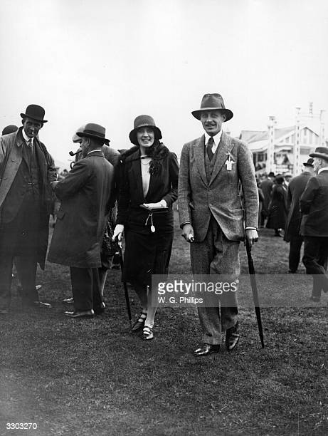 Honorable David BowesLyon son of the Earl of Strathmore with Lady Anne Egerton at the Lanark races David BowesLyon grew up at Glamis Castle Angus...