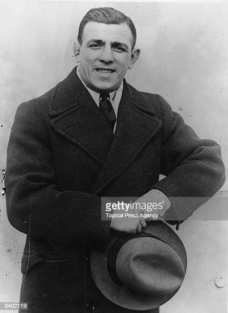 Boxer Harry Mason who fought in England and the USA He was at one time British light and welter weightchampion