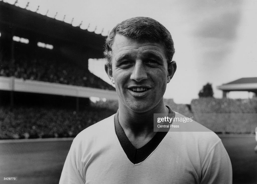 Manchester United footballer, David Herd.