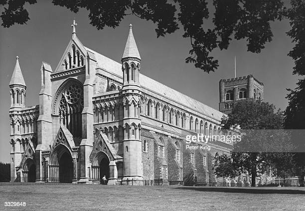 The Abbey at St Albans, Hertfordshire.