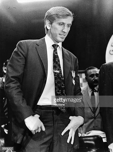 American world chess champion Bobby Fischer