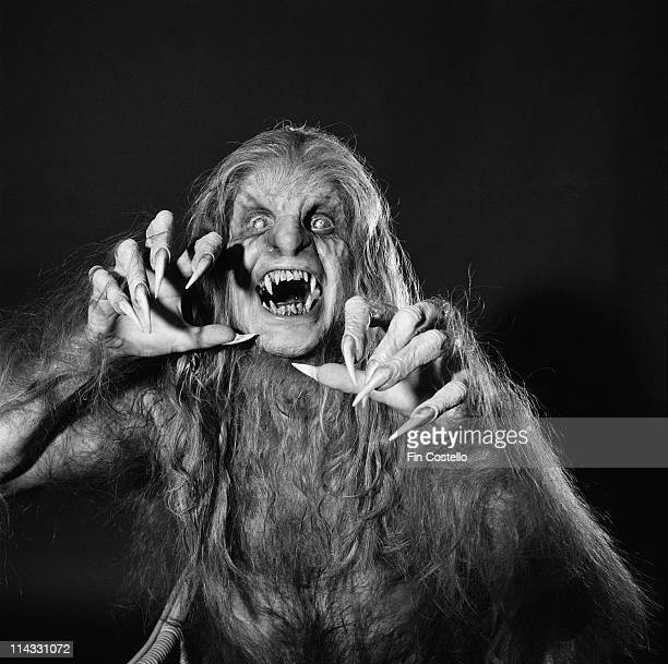 Ozzy Osbourne posed as a werewolf for the front cover shoot of his album 'Bark at the Moon' at Shepperton Studios in England in September 1983