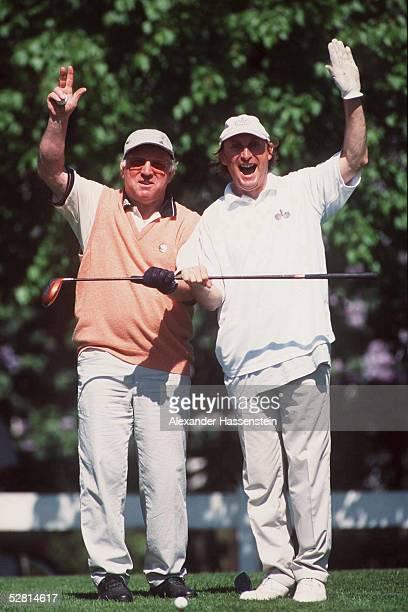Golfclub PRISDORF FranzBeckenbauerStiftung Uwe SEELER mit Otto WAALKES