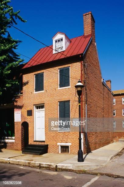 2000s EDGAR ALLAN POE HOUSE BALTIMORE MD USA