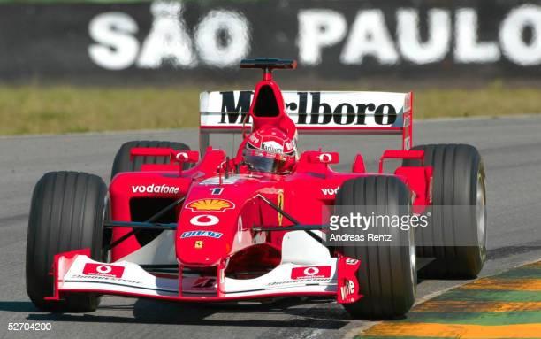Qualifying Sao Paulo Michael SCHUMACHER/GER FERRARI