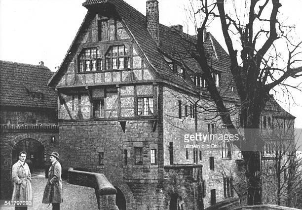 *20041889Politiker NSDAP D mit Rudolf Hess bei einem Besuchder Wartburg bei Eisenach