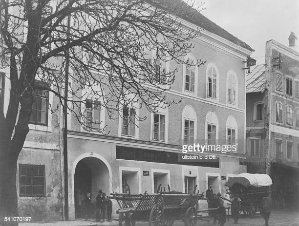 *20041889Politiker NSDAP DDas Geburtshaus in Braunau am InnOberösterreich
