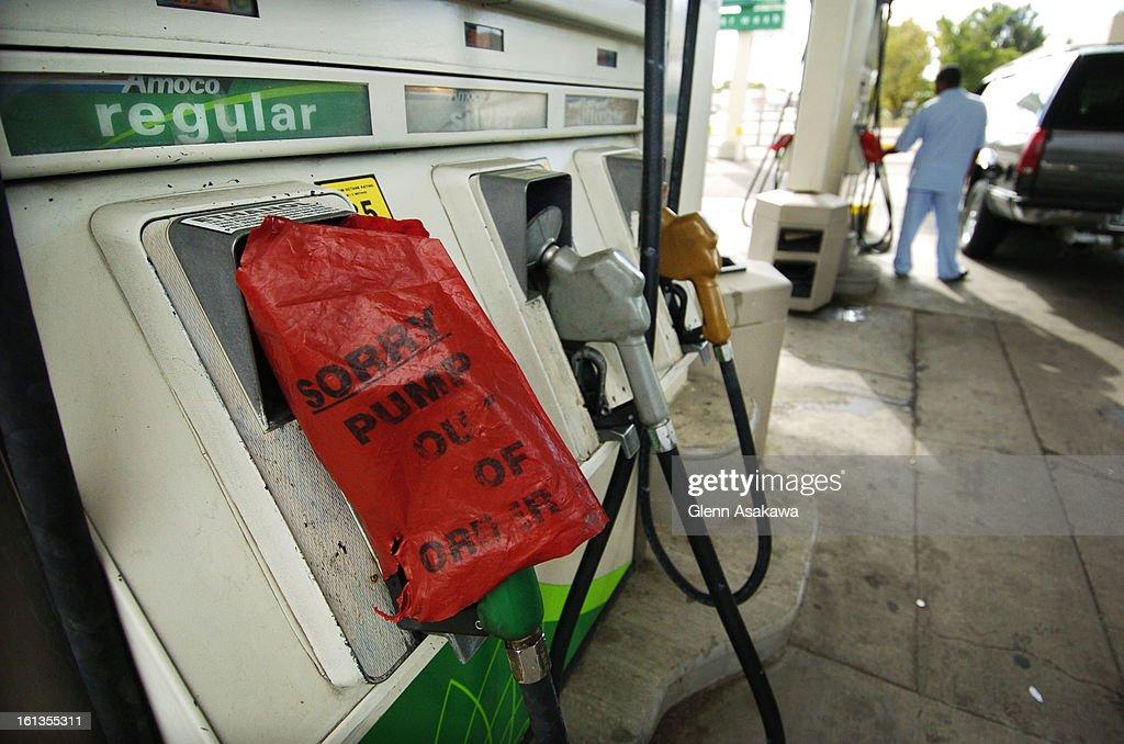 DENVER, COLORADO, SEPTEMBER 6, 2005--Regular gasoline pumps were all