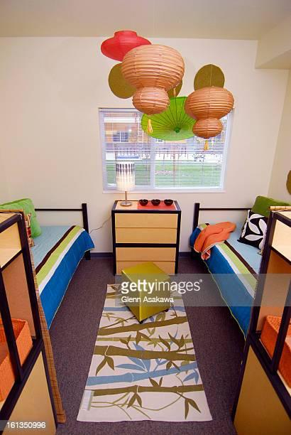 Auraria dormitory apartment makeover by designer Lane Elisabeth Oliver <cq> .