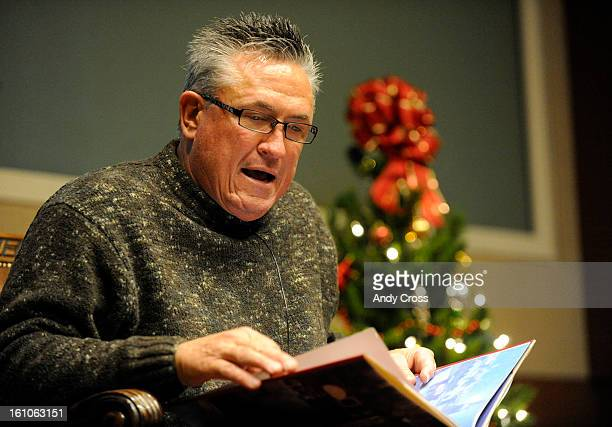 DENVERCODECEMBER 12TH 2008Colorado Rockies manager Clint Hurdle reads Twas The Night Before Christmas to nearly 200 hundred children during a...