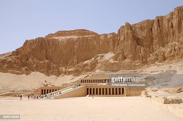 Valley of the Gates of the Kings in Luxor city in Upper Egypt on April 29, 2008 in Luxor, Egypt.