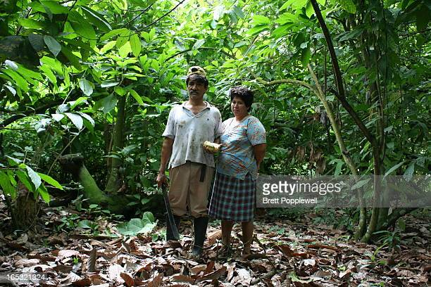 Dolores and Juayas Fernandez are two of only a handful of fair trade organic banana farmers in Machala Ecuador the banana capital of the world The...