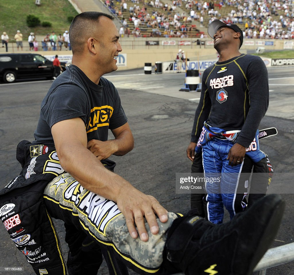 Image result for tony schumacher and antron brown