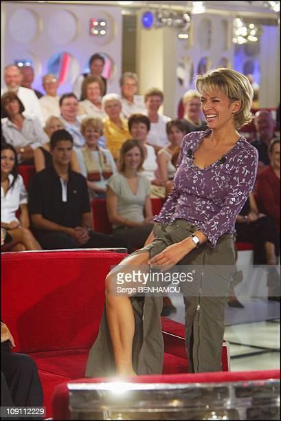 200Th Michel Drucker Tv Show On September 17 2003 In Paris France Corinne Touzet