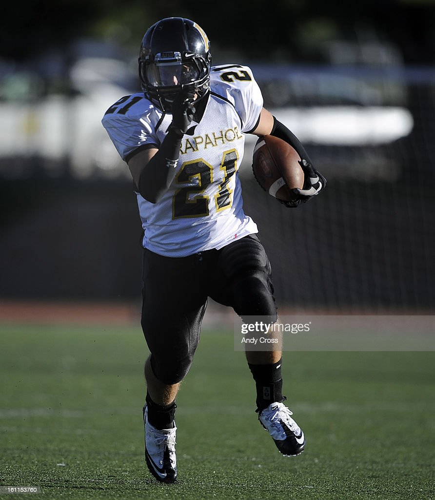 Arapahoe High School Shooting Denver Post: CO--SEPTEMBER 24TH 2010--Arapahoe High School RB, Adam