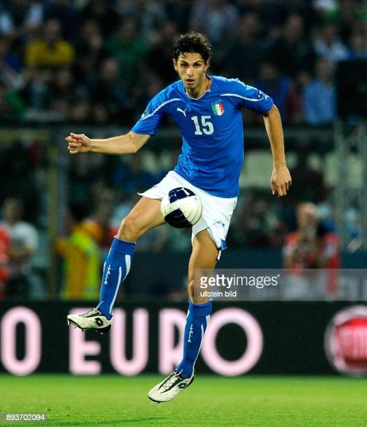FUSSBALL INTERNATIONAL EM 2012Qualifikation Gruppe C Italien Estland Andrea Ranocchia