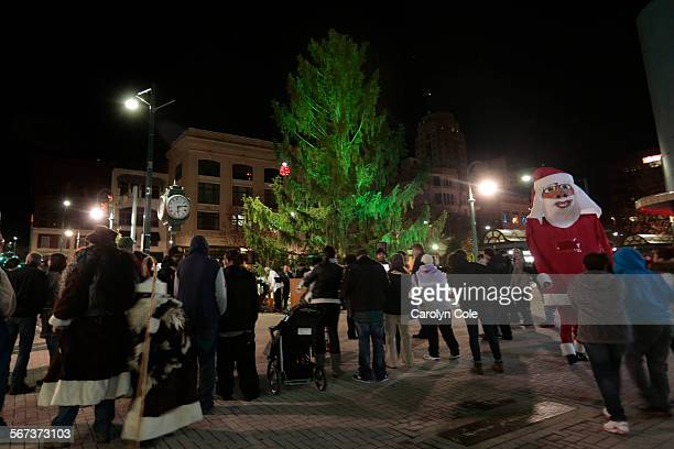 YORKDEC 7 2014In Reading Pennsylvania the city put up a Christmas tree that became controversial for it's sad appearance On Dec 7 some city officials...