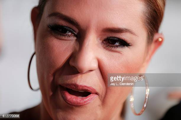 BURBANK USASUNDAY OCTOBER 02 2016Alicia Machado singer actress and former Miss Universe being talked about by Republican Presidential nominee Donald...