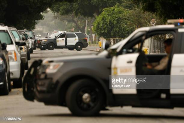 COMPTON CALIFORNIASEPT 10 2020Los Angeles County Sheriffs were involved in a shooting that occurred at 500 S Bradfield Ave in Compton after...