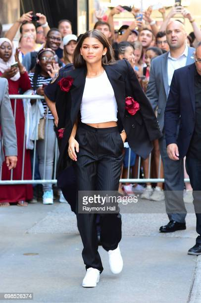 Actress/singer Zendaya is seen outside Good Morning America on June 20 2017 in New York City