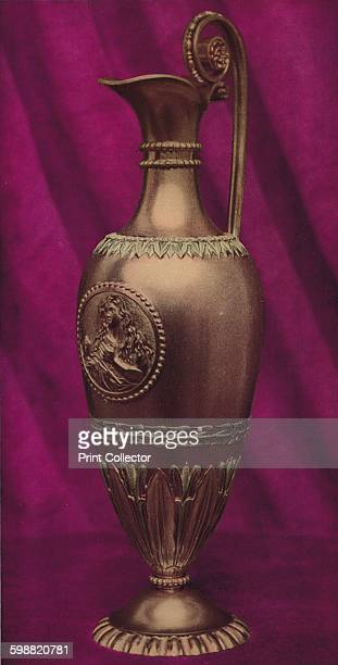 Carat Gold Ampulla or Anointing Vessel with Effigy of the Magdalen 1803 From The Connoisseur Volume 102 [The Connoisseur Ltd London 1938] Artist...