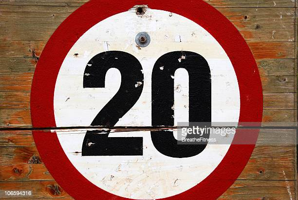 20mph - number 20 stock pictures, royalty-free photos & images