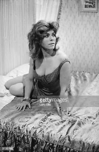 English actress Billie Whitelaw in the ATV play 'The Ballad of Queenie Swann'.