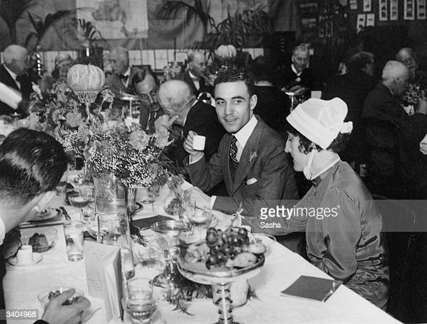 Some of the guests at the 'Mosquito Day' Luncheon given by Ronald Ross at the Ross Institute and Hospital for Tropical Diseases, Putney, London, to...